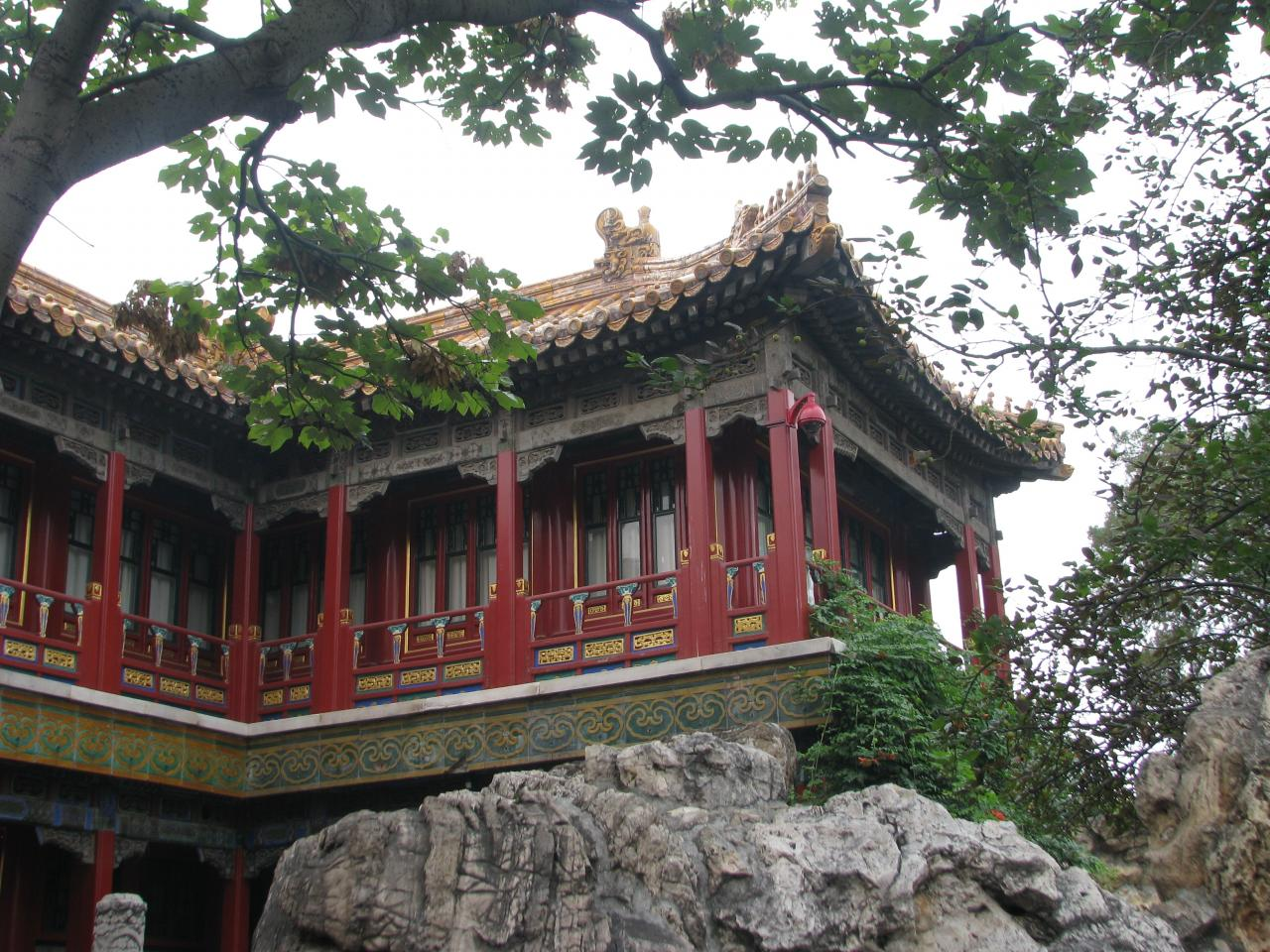 Chine for Jardin imperial